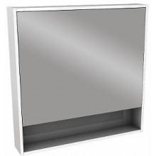 Nábytek zrcadlová skříňka Kolo Ego/Ovum by Antonio Citterio 80x80x13,5 cm lesklá bílá