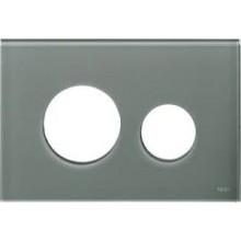TECE LOOP kryt 220x150mm, pro kombinaci s tlačítkovou deskou, sklo/modro-šedá