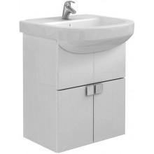 Nábytek skříňka s umyvadlem Kolo Primo 50x62,5x32,5 cm lesklá bílá lakovaná