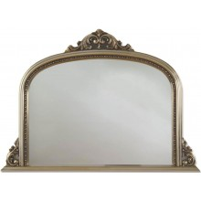 HERITAGE ARCHWAY zrcadlo 1270x910mm s dřevěným rámem, stříbrná Champagne