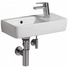Umývátko klasické Keramag s otvorem Renova Nr.1 Comprimo New, s přepadem, s otvorem vpravo 50x25 cm bílá+KeraTect