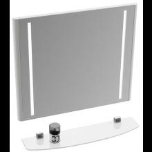 RAVAK EVOLUTION zrcadlo 700x600mm s osvětlením, bílá lesk
