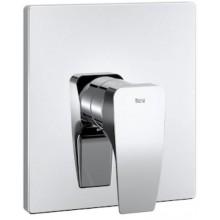 ROCA THESIS sprchová baterie 160x180mm, podomítková, páková, vrchní díl, chrom
