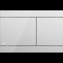 ALCAPLAST FUN ovládací tlačítko 247x5x165mm pro předstěnové instalační systémy, nerez