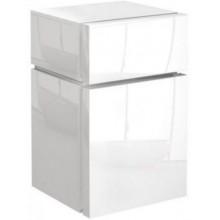 Nábytek skříňka Kolo Varius postranní nízká 36,5x59,6x36,2 cm lesklá bílá