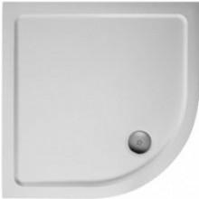 Vanička litý mramor Ideal Standard čtvrtkruh Simplicity Stone 81x81x4 cm bílá