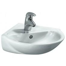 LAUFEN PRO B rohové umývátko 495x500mm s otvorem, bílá 8.1695.5.000.104.1