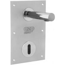 """AZP BRNO AUM 15.K1 umyvadlová baterie G1/2"""", nástěnná, automatická, nerez"""