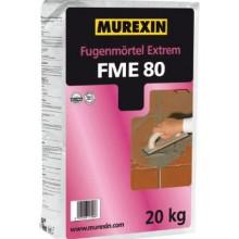 MUREXIN EXTRÉM FME 80 spárovací malta 20kg, jednosložková, do bazénů a nádrží, šedá