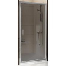 Zástěna sprchová dveře Ravak sklo Blix BLDP2-100 1000x1900 mm bright alu/grafit