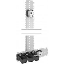 HANSA MATRIX instalační balíček pod omítku 09 DN15, elektronická baterie s termostatem