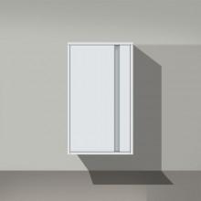 DURAVIT KETHO skříňka 500x360mm polovysoká, levá, bílá matná/bílá matná