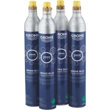 GROHE BLUE karbonizační lahev CO2 425g, 4 ks