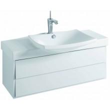 KOHLER ESCALE skříňka 980x360x340mm pod umyvadlo, 2 zásuvky, gloss white EB760-G1C