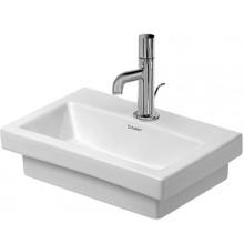 DURAVIT 2ND FLOOR umývátko 400x300mm bez přetoku bílá 07904000001