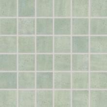 RAKO MANUFACTURA mozaika 5x5cm zelená WDM05015