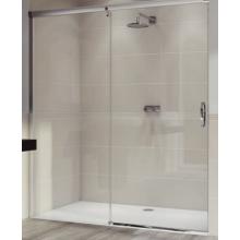 Zástěna sprchová dveře Huppe sklo Aura elegance 1600x1900 mm stříbrná matná/čiré AP