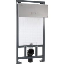 AZP BRNO BSAZ 5 předstěnový systém 510x1210mm se splachovačem, bezpečnostní, nerez