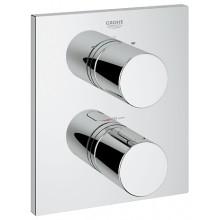 Ventil podomítkový Grohe termostatický Grohtherm 3000 Cosmopolitan vrchní díl 171x197mm chrom