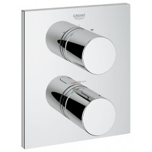 GROHE GROHTHERM 3000 COSMOPOLITAN termostat s integrovaným přepínačem 171x197mm chrom 19567000