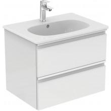 IDEAL STANDARD TESI skříňka pod umyvadlo 600x440x490mm, 2 zásuvky, bílá lesk