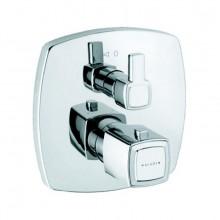 Baterie sprchová Kludi podomítková termostatická Q-Beo 508350542 vrchný díl  chrom