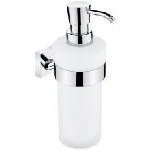 NIMCO KEIRA dávkovač tekutého mýdla 75x120x190mm, chrom/matné sklo