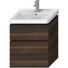 JIKA CUBITO-N skříňka pod umyvadlo 640x467x683mm, 2 zásuvky, tmavá borovice