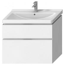 JIKA CUBITO-N skříňka pod umyvadlo 590x427x683mm, 2 zásuvky, bílá