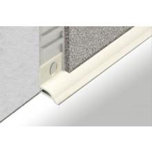 PROFIL-EU profil 15x5mm, 1,85m vanový, pod obklad, s lepící páskou, PVC, bílá