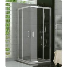 Zástěna sprchová dveře Ronal sklo TOP-line 1000x1900 mm aluchrom/čiré AQ