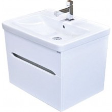 EDEN BERYL závěsná skříňka 566x540x425mm, umyvadlová, lesk/bílá