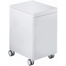 ESPRIT kontejner 398x500x678mm kolečkový, bílá