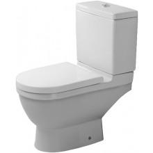DURAVIT STARCK 3 stojící klozet 360x655mm kombinační, odpad vodorovný, bílá/wonder gliss 01260900001
