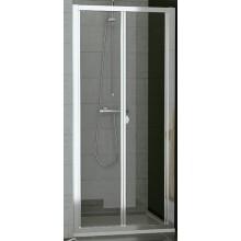 SANSWISS TOP LINE TOPK sprchové dveře 1000x1900mm, zalamovací, bílá/sklo Durlux