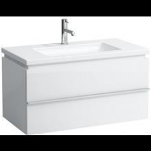 LAUFEN CASE skříňka pod umyvadlo 895x475x455mm 2 zásuvky, bílá 4.0126.2.075.463.1