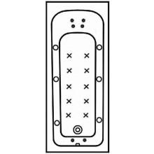 Příslušenství k vanám - - hydromasážní systém 6xstand.trysk 4xmikrotrys 10xair