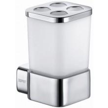 ESPRIT sklenice s nástavcem 88x112mm,  sklo/chrom