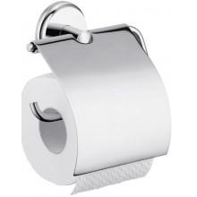 HANSGROHE LOGIS CLASSIC držák na toaletní papír 106mm, s krytem, chrom 41623000