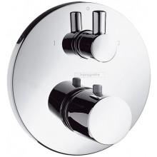 Baterie vanová Hansgrohe podomítková termostatická Ecostat vrchní sada  chrom
