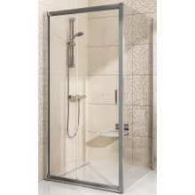 Zástěna sprchová boční Ravak sklo BLPS 800x1900mm bílá/transparent