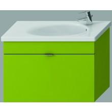 Nábytek skříňka s umyvadlem Jika Tigo 80 cm zelená