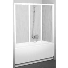 Zástěna vanová Ravak - AVDP3-150 1500x1370 mm satin/transparent