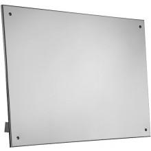 SANELA SLZN52 zrcadlo pro tělesně handicapované 600x400mm, sklopné, na toalety, nerez lesk