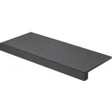 RAKO ROCK schodovka 30x60cm, černá