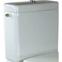 VILLEROY & BOCH SUBWAY splachovací nádržka 370x185mm, k WC, Bílá Alpin CeramicPlus