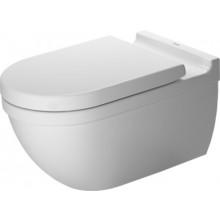 WC závěsné Duravit odpad vodorovný Starck 3 s hlubokým splachováním pro SensoWash Starck 37x62 cm bílá+WonderGliss