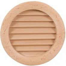 HACO DVM větrací mřížka Ø110mm, kruhová, dřevěná 1002