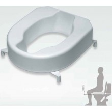 MKW MONARCH nástavec na WC sedátko výška 10cm bílá-termoplast