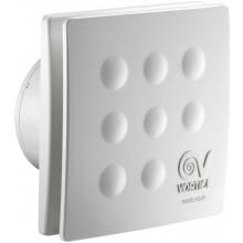 """VORTICE PUNTO FOUR MFO 100/4""""T ventilátor odsávací axiální, s předním panelem, s doběhem, bílá"""